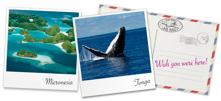 Marvel at the stunning wildlife on a trip to Micronesia or Tonga