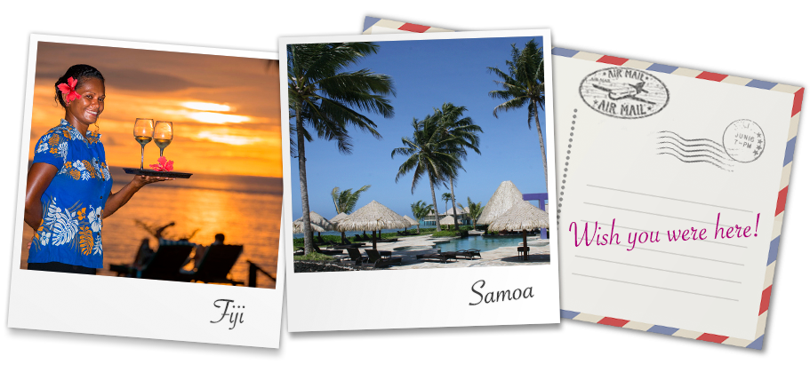 Experience unmatched hospitality with a holiday in beautiful Fiji or Samoa